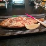 寿司ダイニング やまざき - のどぐろの塩焼き