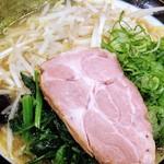 79455234 - 太麺野菜三点盛り①