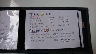 カフェトーチカ - メニュ(Tea、Smoothie)