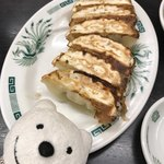日高屋 - 餃子 Pan Fried Gyoza Dumpings at Hidakaya, Kojimachi Prince Dori!♪☆(*^o^*)
