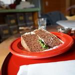 ハーブカフェYKガーデン - キャロットケーキ