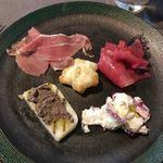 リストランテ・ダ・フィオーレ - 5種類の前菜