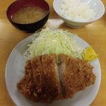 とんかつ いちかつ - 料理写真:ロースかつ定食