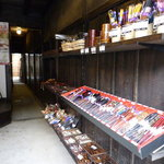 木曽奈良井宿 きむら - 箸とか少し小物が売っていた