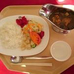 パノラマ - 料理写真:グリーンカレー…税込1000円