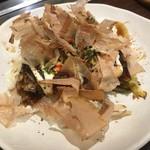 蛸のつぼ - お好み焼き