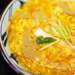 丸亀製麺 - かに玉あんかけ(並)