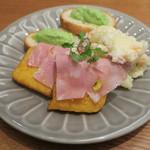イタリアン&ビストロ 荏原町 BISTRON - 本日の前菜(3種盛り)