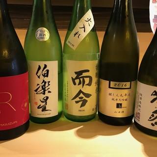 【当店イチオシ】プレミアム日本酒も多数ご用意!