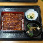 鰻専門店 愛川 - 鰻重 特上 関西風
