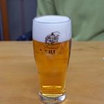 鰻専門店 愛川 - 生ビール