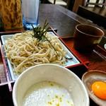 まるやま - 料理写真:山かけそば[¥900]