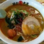 味の大王 - 辛口カレーラーメン