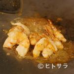 ステーキ 海鮮 鉄板焼き 五稜郭 - 車海老(2尾)