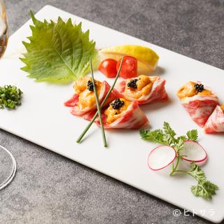 洗練された大人の雰囲気。落ち着く空間で九州料理を味わう贅沢