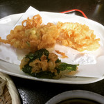 朋 - かき揚げ野菜