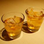 79469642 - 八海山の原酒で仕込んだうめ酒 518円