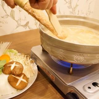■博多出身オーナー監修の博多水炊きがお店のお勧め■
