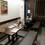 山本屋本店 - テーブル席