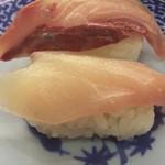 無添くら寿司 - 3位 はまち 100円+税