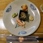 Chuugokukyoudoryourikinri - 季節前菜5種盛り合せ