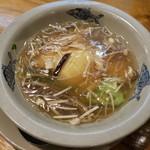 Chuugokukyoudoryourikinri - フカヒレ入り豆花のキノコ煮