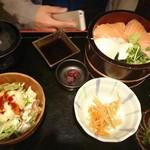 海鮮 銘酒 ななつぼし - サーモン丼
