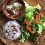 バルボラッチョ - デミグラスソースハンバーグ