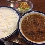カレーショップ 南陽 - 料理写真:インドカリー(チキン) 大盛