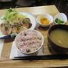 Tsubomi - 料理写真:「香味揚げ定食」一式