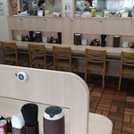 函館麺屋 四代目 - カウンター席1
