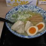 函館麺屋 四代目 - 塩拉麺・味玉トッピング