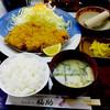 とんかつ福助 - 料理写真:上ロースかつ定食