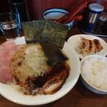 麺匠ことぶき - Aセット(餃子と半ライス)