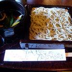 蕎麦処 多賀 - 鴨せいろそば 1050円