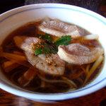 蕎麦処 多賀 - 鴨南ばんそば1150円