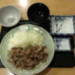 まんまや - 生姜焼き定食