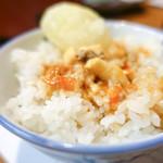 桜なべ 中江 - 〆ご飯
