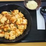 まんまや - 麻婆豆腐麺(+50円で粉チーズトッピング)