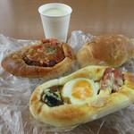 プランタン - 料理写真:朝食でいただきました♪