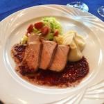 ルタン - 豚ロースのポワレ 粒マスタードのソース
