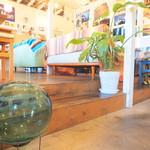 DivingShop&Cafe Gillman - マリン調の飾りがたくさんで、店内はまさに海ヾ(o´∀`o)ノ♪