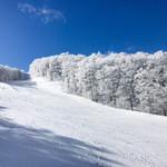 ろばた - 蔵王温泉スキー場(新雪、快晴なのにガラガラ)