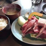ろばた - ろばた(ジンギスカン定食)