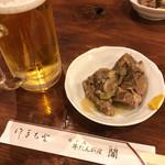 79494316 -  閣ブランドーム店(ビール、牛タン角煮)