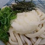 めん屋 - おろしぶっかけうどん冷(中)