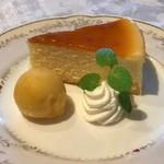 バズ ガーデン - ベイクドチーズケーキ