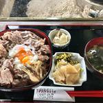 辻の茶屋 - あか牛すき焼き丼 1300円