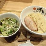 中華蕎麦 時雨 - 料理写真:ホロホロ南蛮キジつけ蕎麦