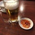 天福飯店 - 大問題のキムチ